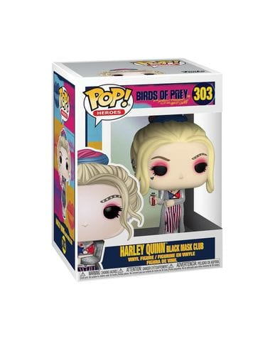 Фигурка Birds of Prey - Harley Quinn Black Mask Club (Funko POP!)