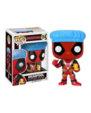 Фигурка Deadpool - Deadpool Bath Time (Funko POP!) [Exclusive]
