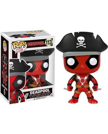 Фигурка Deadpool – Deadpool Pirate (Funko POP!) [Exclusive]