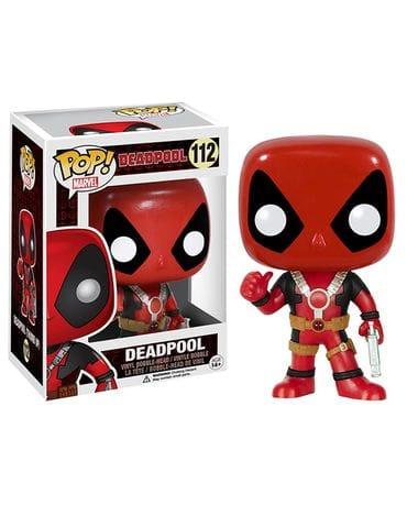 Фигурка Deadpool - Deadpool Thumbs Up (POP! Vinyl)