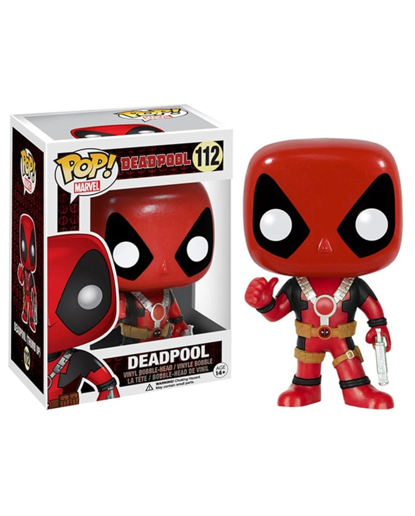 Фигурка Deadpool - Deadpool Thumbs Up (POP! Vinyl)