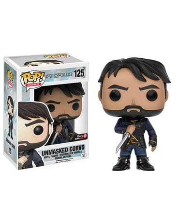 Фигурка Dishonored 2 - Unmasked Corvo (Funko POP!) [Exclusive]