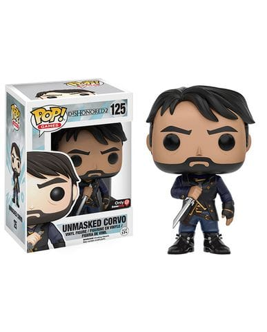 Фигурка Dishonored 2 - Unmasked Corvo (Funko POP! Vinyl) [Exclusive]