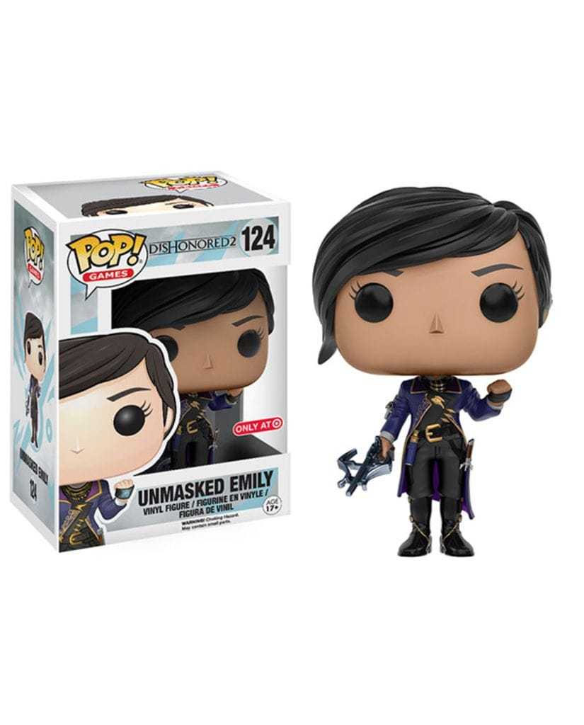 Фигурка Dishonored 2 - Unmasked Emily (Funko POP!) [Exclusive]