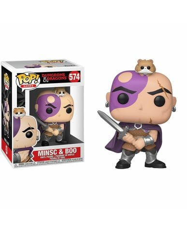 Фигурка Dungeons & Dragons - Minsc and Boo (Funko POP!)