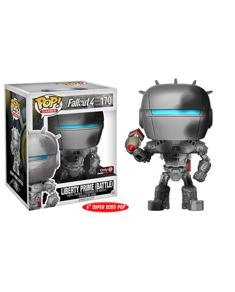 Фигурка Fallout 4 - Battle Damaged Liberty Prime (Funko POP!) [Exclusive]