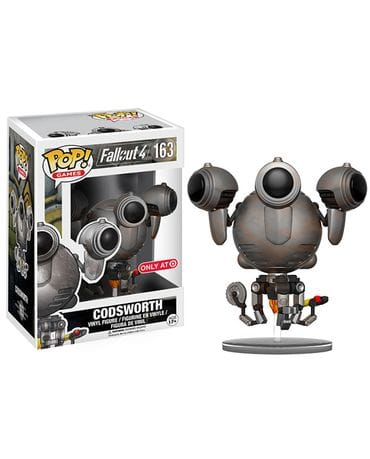 Фигурка Fallout 4 – Rusted Codsworth (Funko POP!) [Exclusive]
