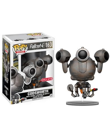 Фигурка Fallout 4 - Rusted Codsworth (Funko POP!) [Exclusive]