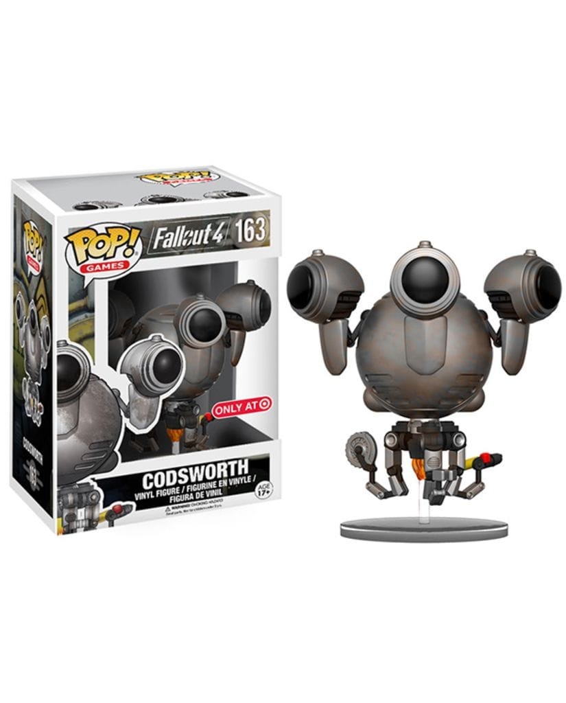 Фигурка Fallout 4 - Rusted Codsworth (POP! Vinyl) [Exclusive]