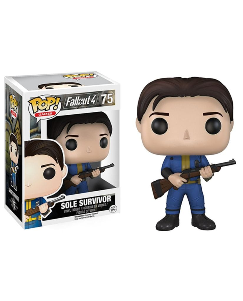 Фигурка Fallout 4 - Sole Survivor (Funko POP!)