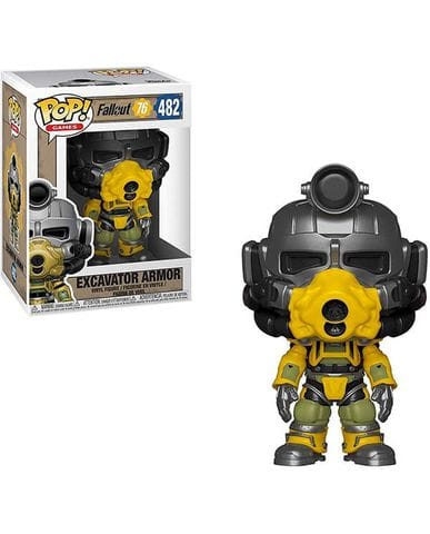 Фигурка Fallout 76 - Excavator Armor (Funko POP!)