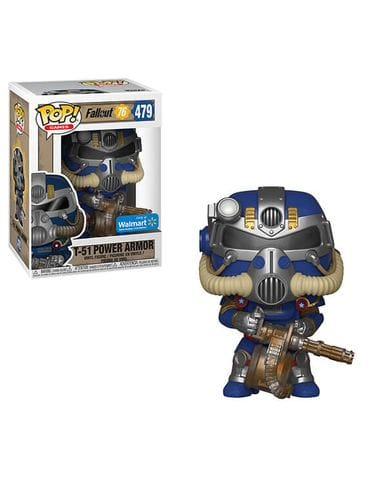 Фигурка Fallout 76 - T-51 Power Armor Tricentennial (Funko POP!) [Exclusive]