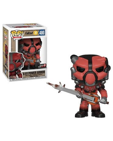 Фигурка Fallout 76 - X-01 Power Armor Red (Funko POP!) [Exclusive]