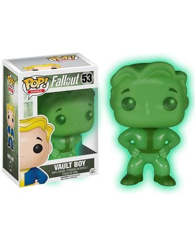Фигурка Fallout - Vault Boy Glow (Funko POP!) [Exclusive]