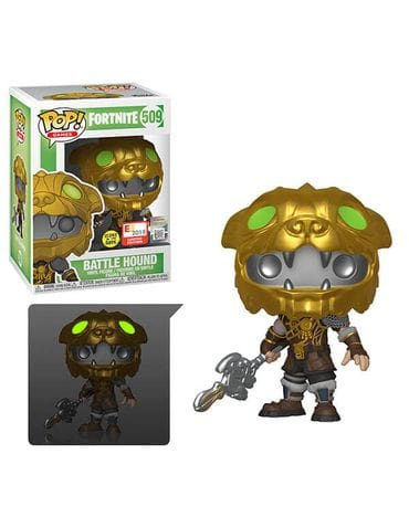Фигурка Fortnite - Battle Hound Glow (Funko POP!) [Exclusive]