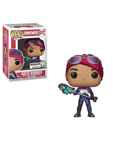 Фигурка Fortnite – Brite Bomber Metallic (Funko POP!) [Exclusive]