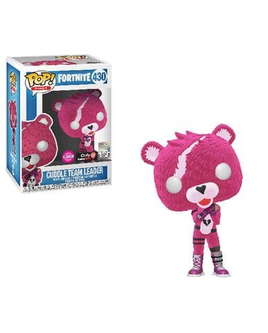 Фигурка Fortnite - Cuddle Team Leader Flocked (Funko POP!) [Exclusive]
