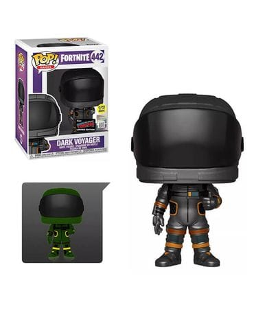 Фигурка Fortnite - Dark Vanguard Metallic Glow (Funko POP!) [Exclusive]