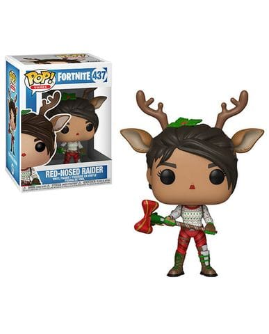 Фигурка Fortnite - Red Nosed Raider (Funko POP!) [Exclusive]