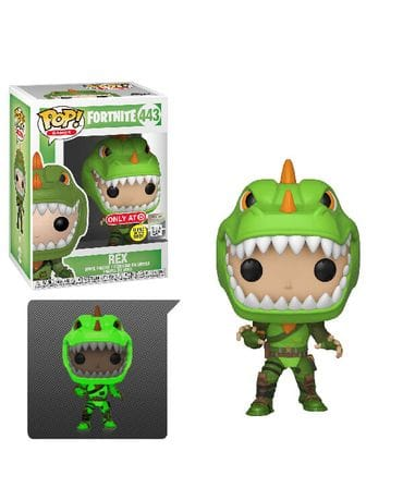 Фигурка Fortnite – Rex Glow (Funko POP!) [Exclusive]