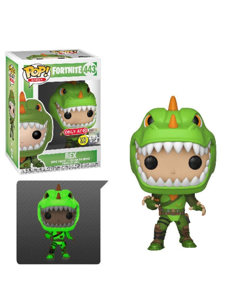 Фигурка Fortnite - Rex Glow (Funko POP!) [Exclusive]