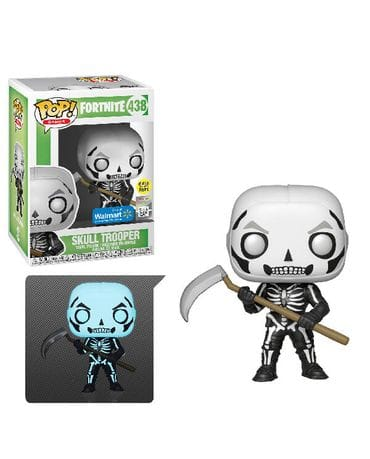 Фигурка Fortnite – Skull Trooper Glow (Funko POP!) [Exclusive]