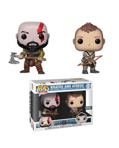 Фигурки God of War - Kratos and Atreus (Funko POP!) [Exclusive]