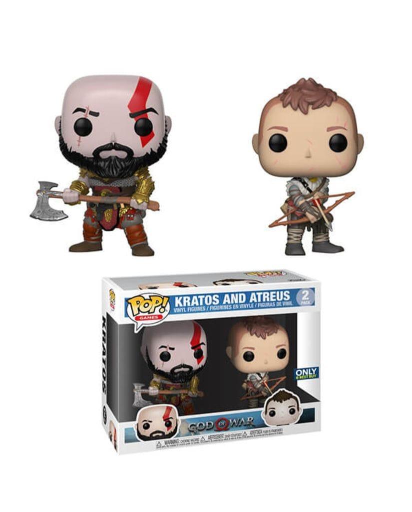 Фигурки God of War - Kratos and Atreus (Funko POP!) [Exclusive]