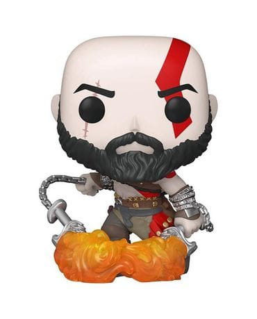 Фигурка God of War - Kratos with The Blades of Chaos Glow (Funko POP!) [Exclusive]