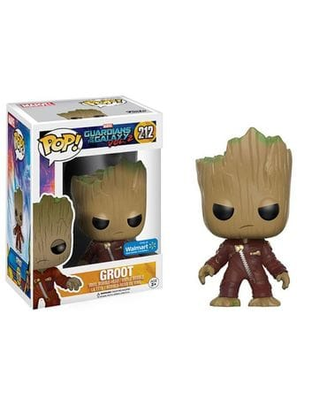 Фигурка Guardians of the Galaxy Vol. 2 - Angry Ravager Groot (Funko POP!) [Exclusive]
