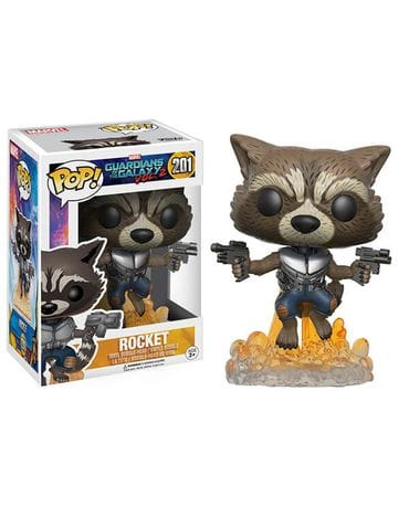Фигурка Guardians of the Galaxy Vol. 2 - Rocket (Funko POP!)
