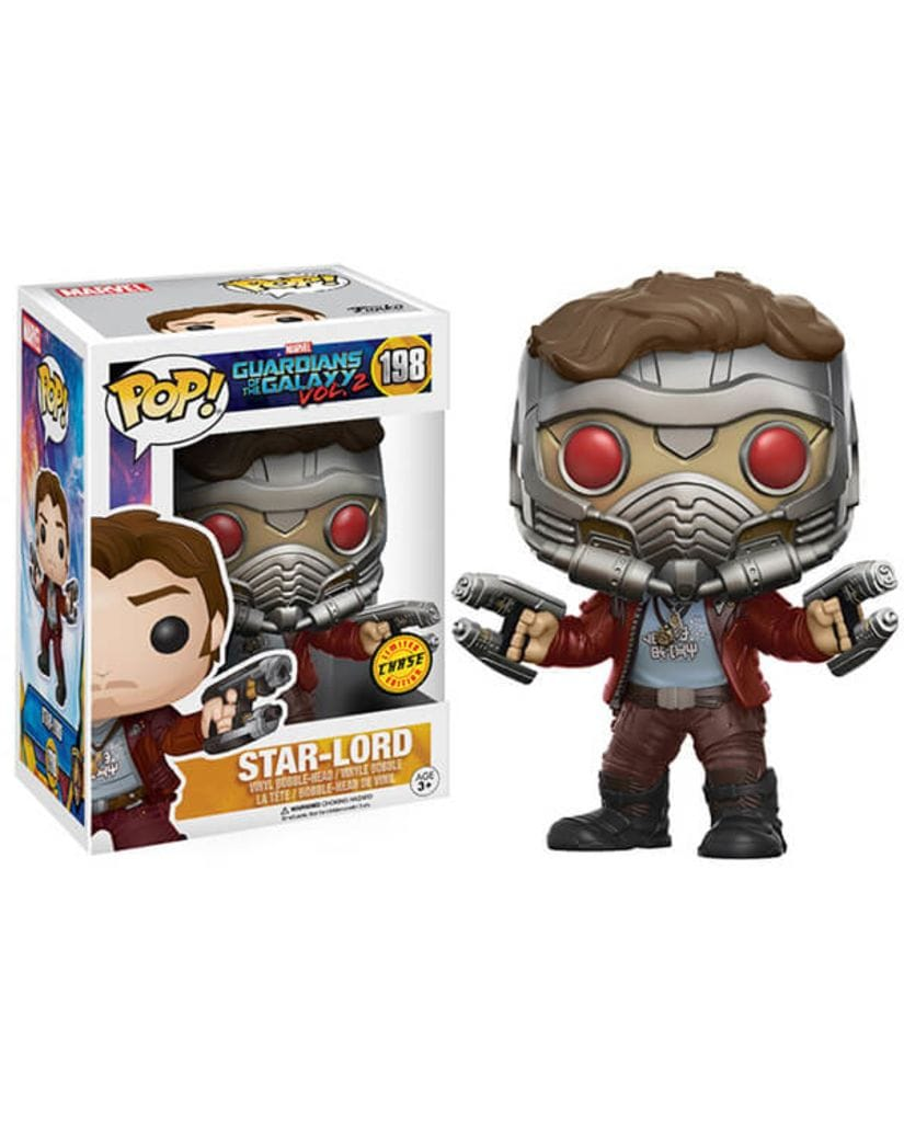 Фигурка Guardians of the Galaxy Vol. 2 - Star-Lord (Funko POP!) [Chase]