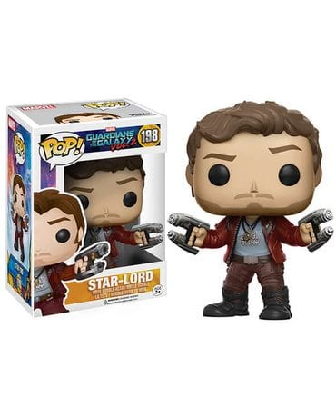 Фигурка Guardians of the Galaxy Vol. 2 - Star-Lord (Funko POP!)