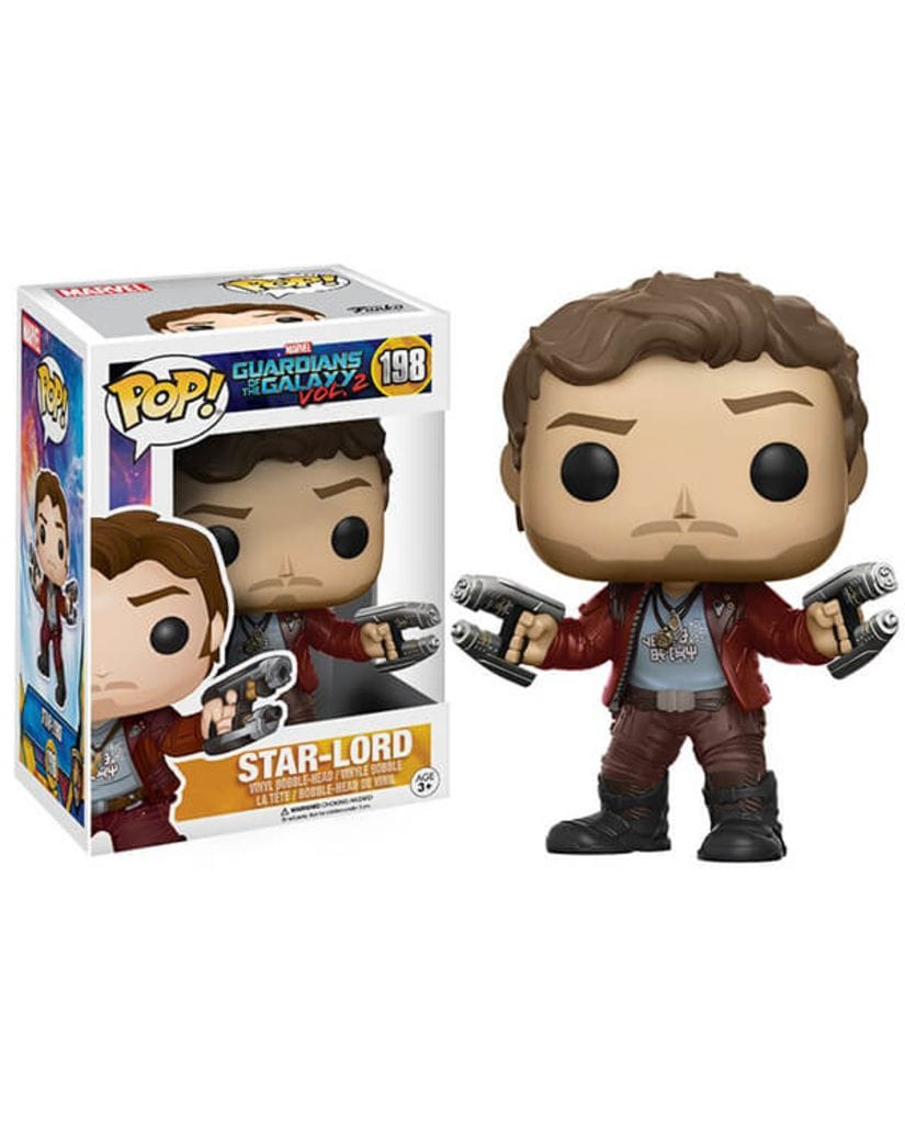 Фигурка Guardians of the Galaxy Vol. 2 – Star-Lord (Funko POP!)