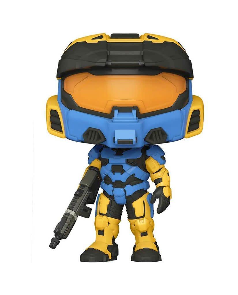 Фигурка Halo Infinite - Spartan Mark VII with VK78 Blue & Yellow (Funko POP!)