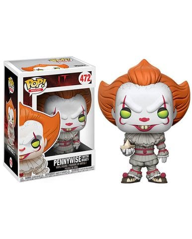 Фигурка IT - Pennywise with Boat (Funko POP!)