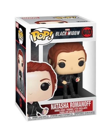Фигурка Black Widow – Natasha Romanoff (Funko POP!)