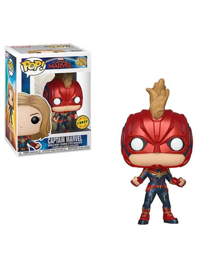 Фигурка Captain Marvel - Captain Marvel (Funko POP!) [Chase]