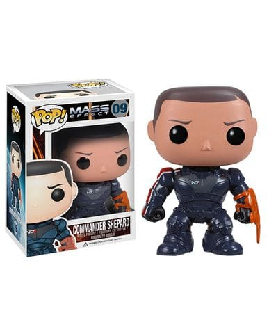 Фигурка Mass Effect - Commander Shepard (Funko POP! Vinyl)