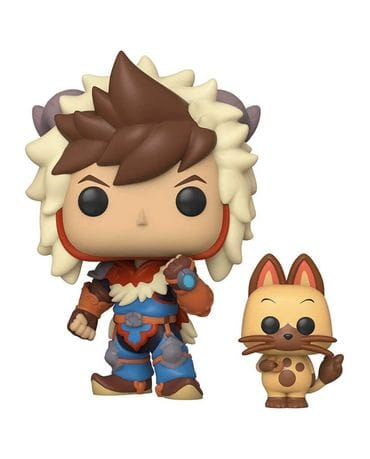 Фигурка Monster Hunter Stories - Lute with Navirou (Funko POP!)