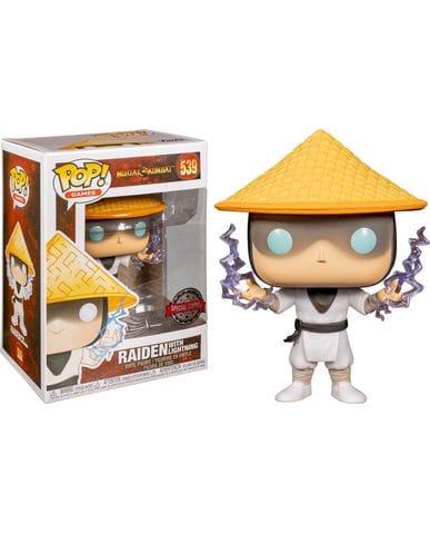 Фигурка Mortal Kombat - Raiden with Lightning (Funko POP!)