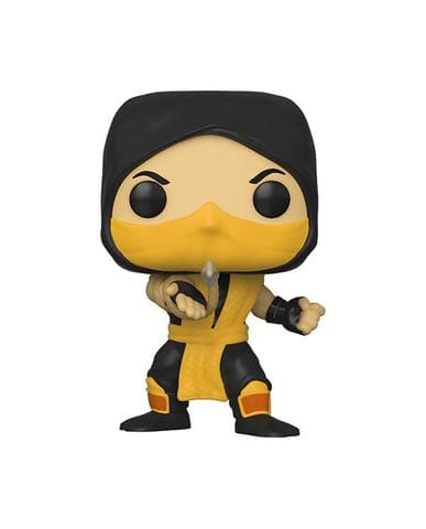 Фигурка Mortal Kombat – Scorpion (Funko POP!)