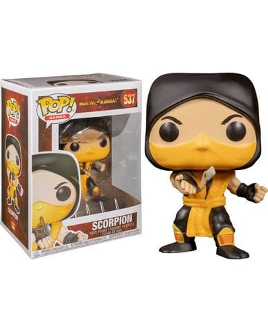Фигурка Mortal Kombat - Scorpion (Funko POP!)