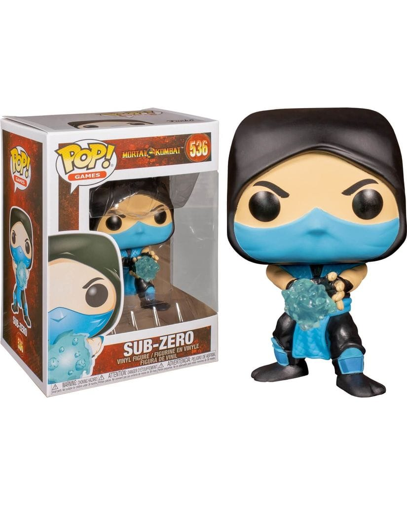 Фигурка Mortal Kombat – Sub-Zero (Funko POP!)