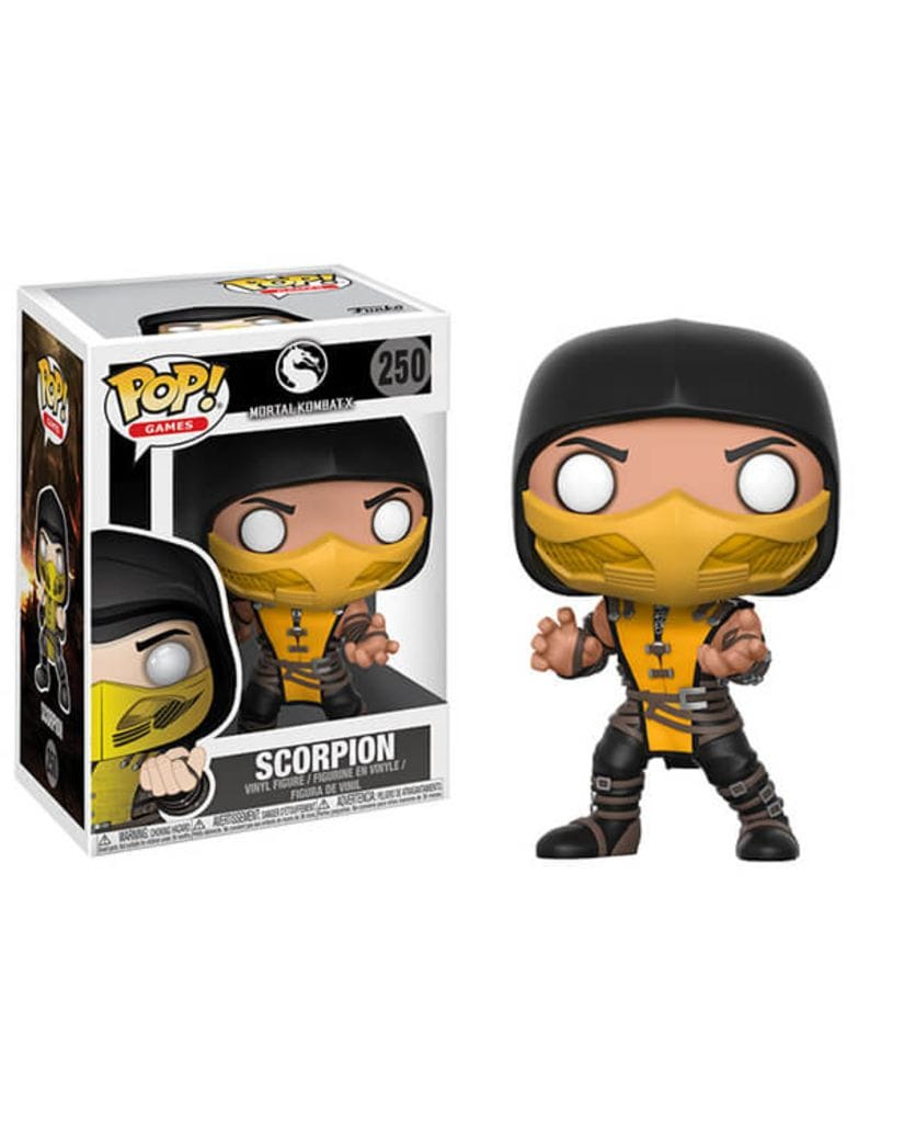 Фигурка Mortal Kombat X - Scorpion (Funko POP!)