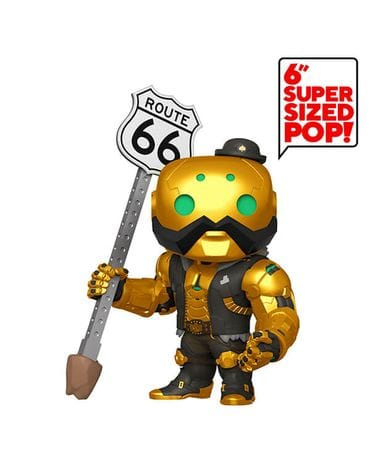 Фигурка Overwatch - B.O.B. Metallic (Funko POP!) [Exclusive]