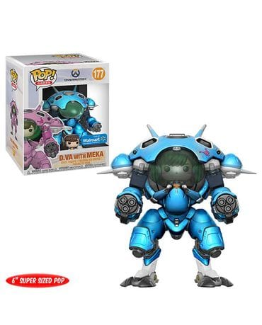 Фигурка Overwatch – D.Va with Meka Blueberry (Funko POP!) [Exclusive]
