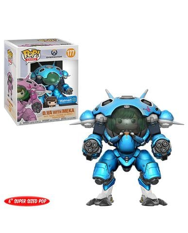 Фигурка Overwatch - D.Va with Meka Blueberry (Funko POP!) [Exclusive]