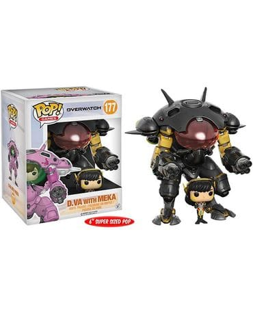 Фигурка Overwatch – D.Va with Meka Carbon Fiber (Funko POP!) [Exclusive]