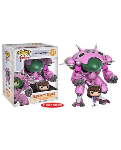 Фигурка Overwatch - D.Va with Meka (POP! Vinyl)